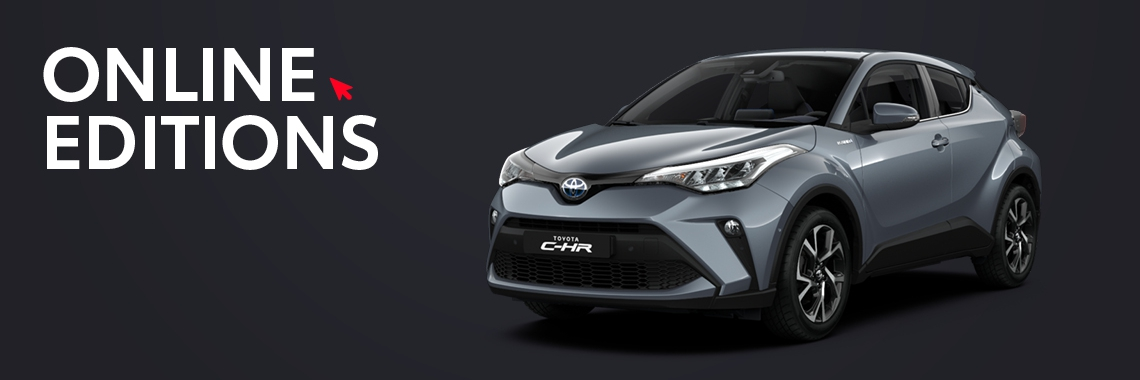 De Toyota C-HR Private Lease Online Editions